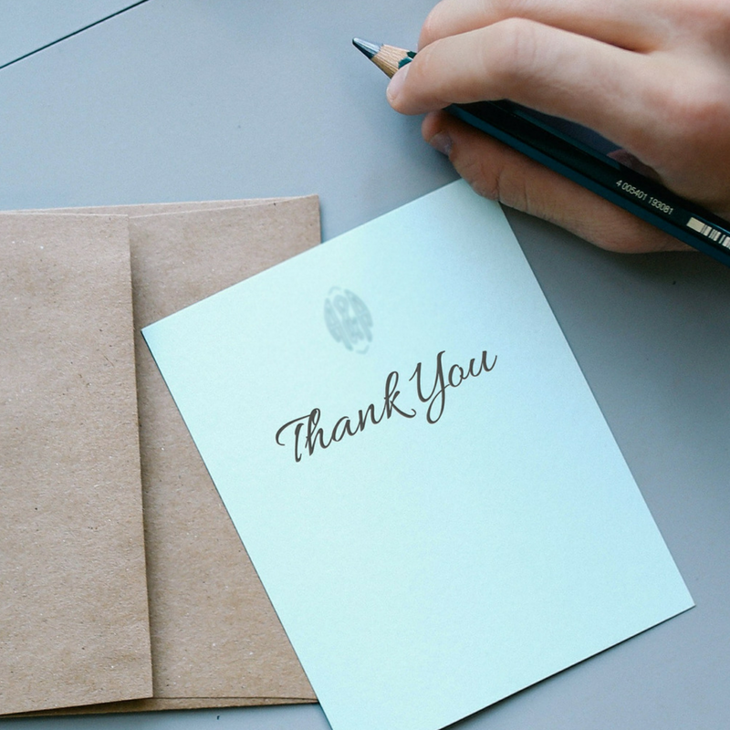 The Lost Art Of The Thank You Note