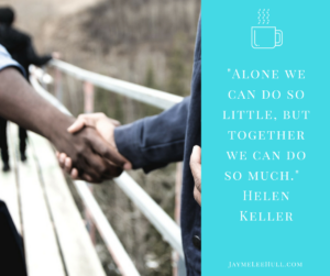 Learn the 4 steps to getting connected to a mentor. Mentoring isn't a formula or a checklist; mentoring is a relationship. #JaymeLeeHull