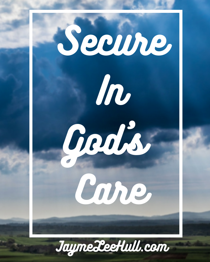 Secure iin God's Care