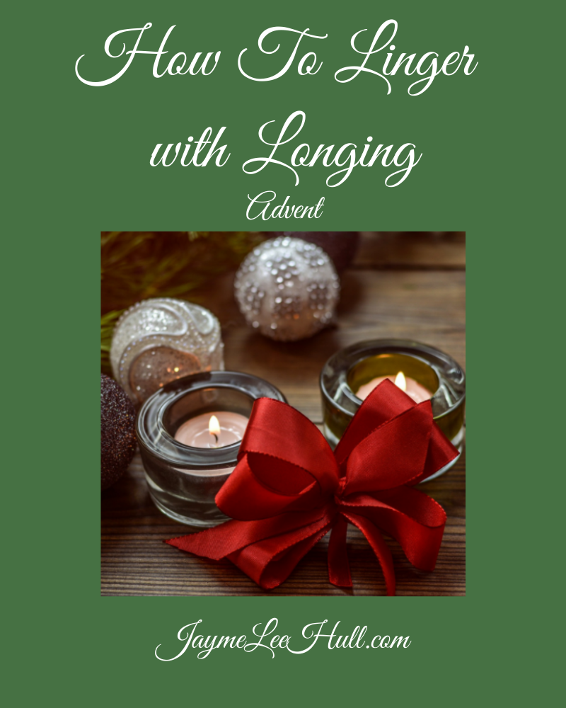 How To Linger with Longing