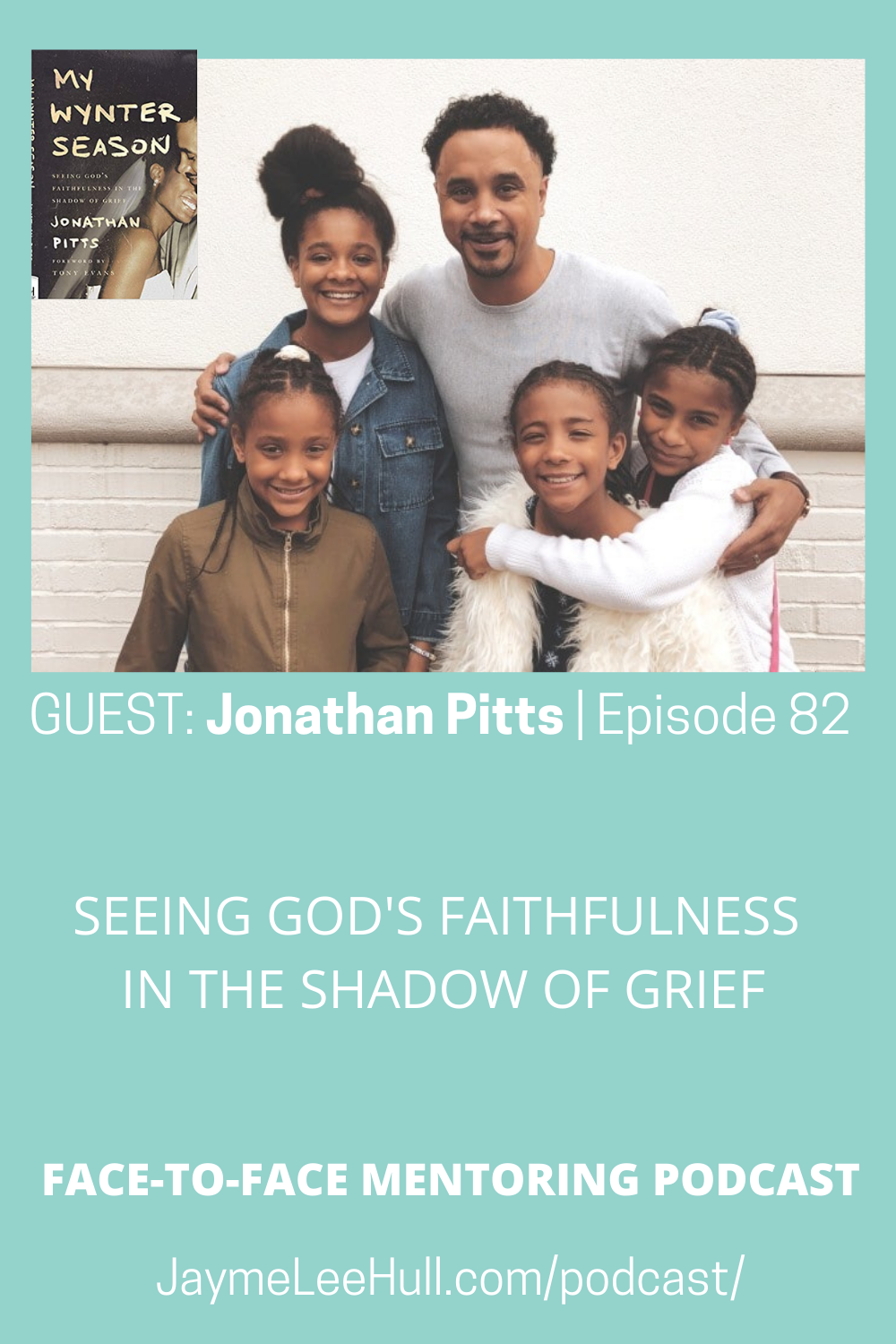 Today's guest is Jonathan Pitts author of My Wyter Season: Seeing God's Faithfulness in the Shadow of Grief. How do you cope with loss? How does anyone still have faith in God after a sudden tragedy? Jonathan shares an honest and detailed account of navigating loss and celebrating the eternal triumph of Life over death.