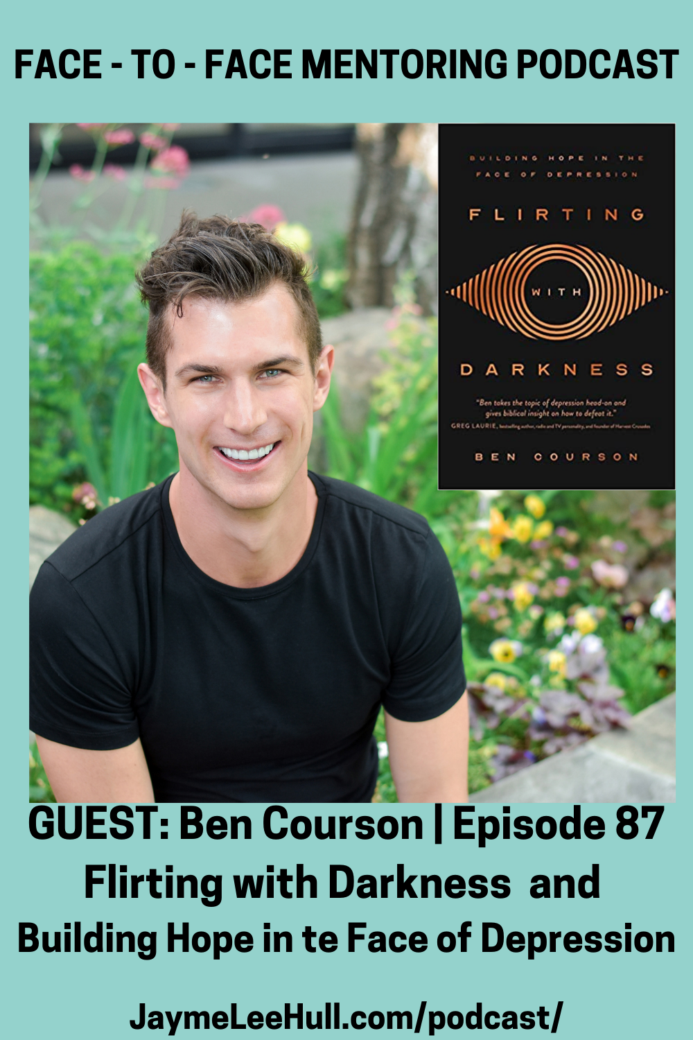 Did you know you don't have to settle for just learning to live with your depression? No, you can rise above it! Listen to Episode 87: Flirting with Darkness and Building Hope in the Face of Depression with the Millennial Leader and much-needed voice of Pastor Ben Courson.